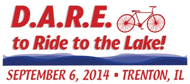 DARE to ride to the lake!