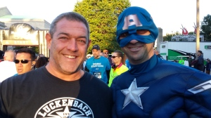 Had to get my picture taken with Captain America!  :D