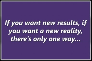 if you want new results