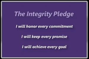 Integrity Pledge