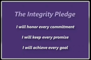 Integrity Pledge