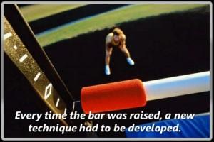 raised bar