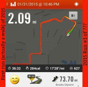 daily run