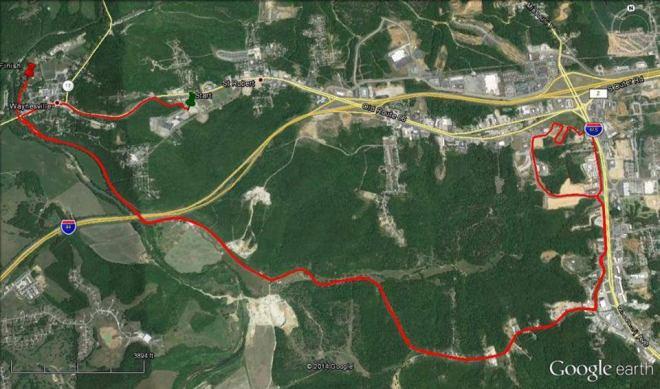 Half Marathon Course Route