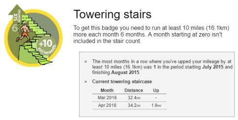2016-04-23 Towering Stairs Badge